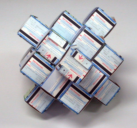 Train Ticket Origami